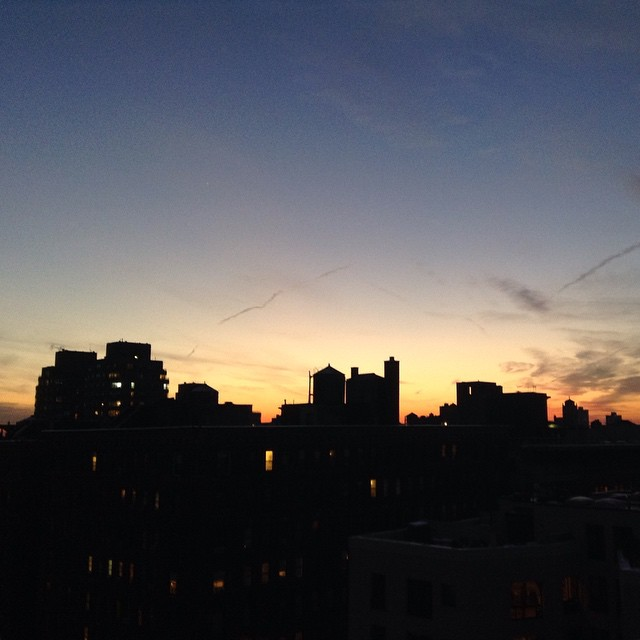 Another beautiful sunset. #nyc