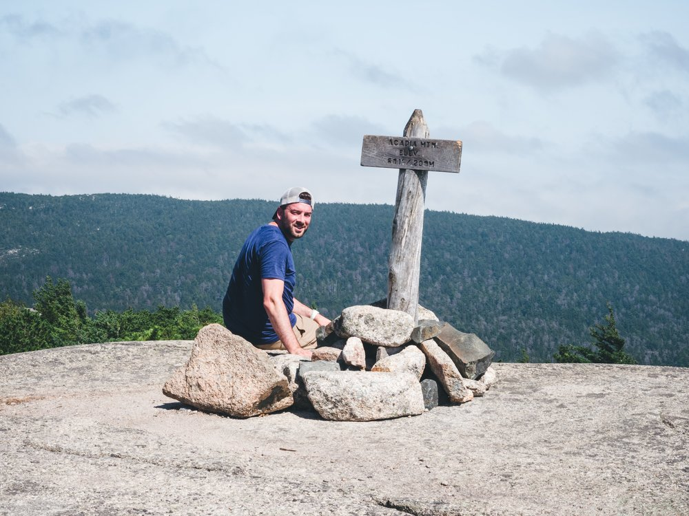 Acadia Mountain Summit