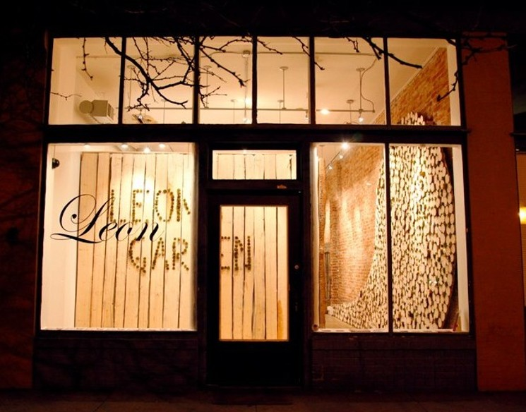 From the get-go, Leon Gallery was conceived as a showplace where artists could thrive and show their most experimental work, unsullied by the constrictive forces of the commercial art world, even if Leon was technically a commercial gallery. Now owners Eric Dallimore and Eric Nord have carried that commitment further by going nonprofit, a rarity in any art scene, and a trusting model that essentially turns the space over to an exhibiting artist for a given period of time. You might not always see the most polished work there, but it's certain that you'll see some of the most ambitious, created by artists whose imaginations have been set free from financial restrictions.