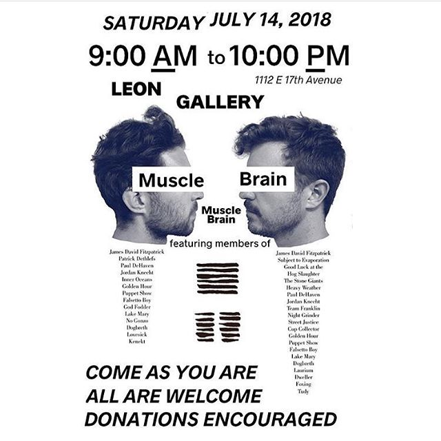 Yep, that is correct. We are hosting a special 13 hour performance by Muscle Brain. @jamesdavidfitzpatrick and @jordanknecht have been playing music together for 13 years, so to celebrate, they are offering a remarkable experience with a host of amazing guest musicians. Start your day off right, drop in right in the middle of the summer sun, or have a nightcap with us. It's going to be such a fascinating experience.