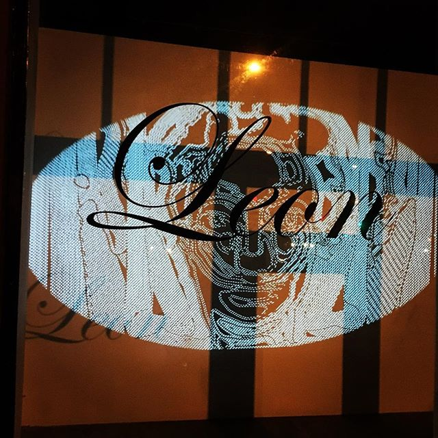 We're featuring some of Chris Bagley's video work in the windows of Leon every night for the next week. Take a stroll on by if you're in the neighborhood. @rocknrollranch #viedoart #digitalarts