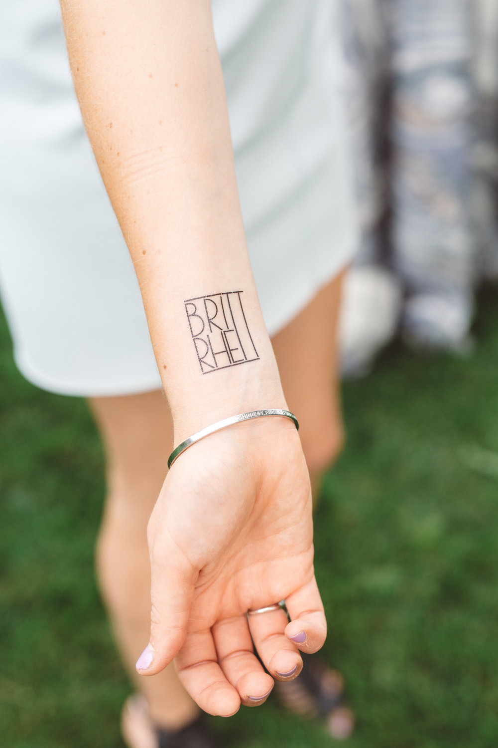Branded - From stir sticks and tattoos to an oversized photo op spot, this wedding had B + R's touch everywhere thanks to the killer talents of our ladies at Prim & Pixie!