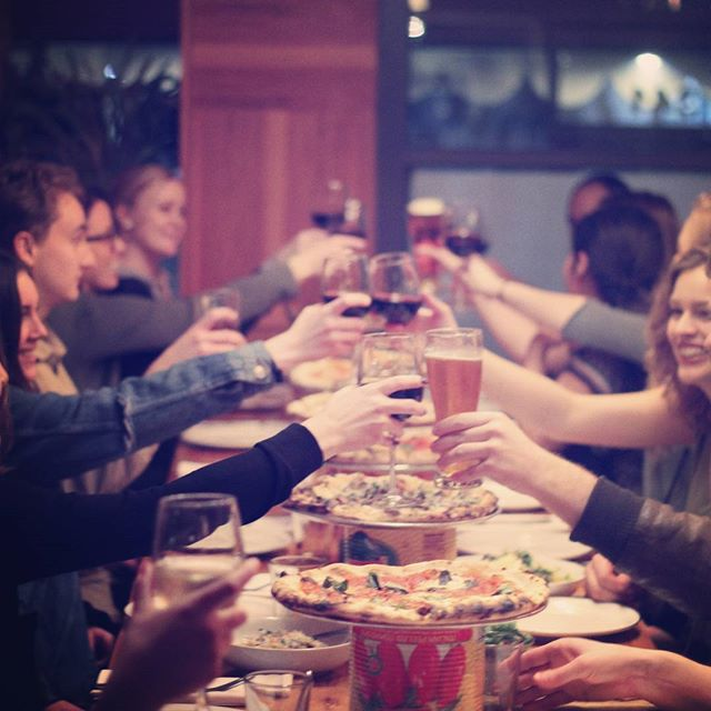 Come celebrate with us! #maniosteria #downtown #annarbor #michigan #mani #italianfood