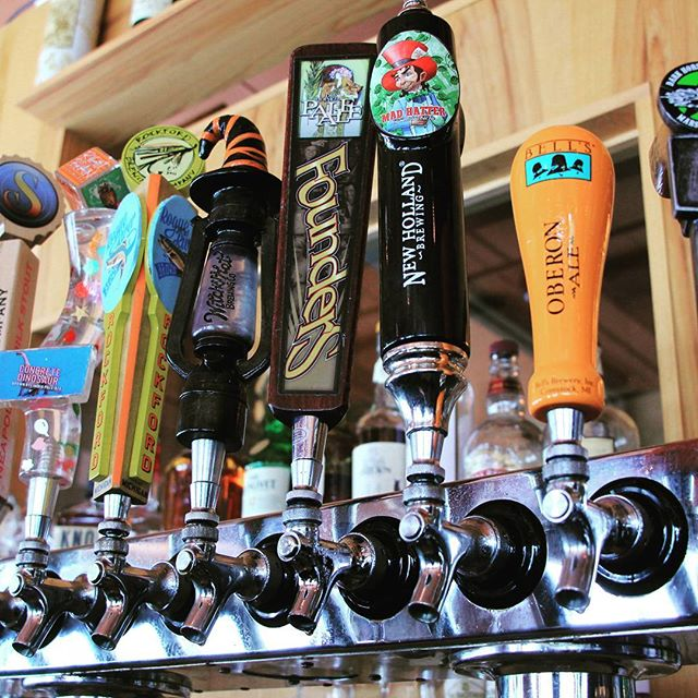 Like local beers and phenomenal Italian food?  Come check us out!  #maniosteria #downtown #annarbor #michigan #local #craftbeer