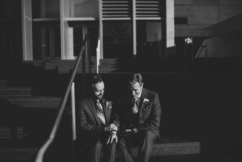 same sex wedding in Grand Rapids Michigan
