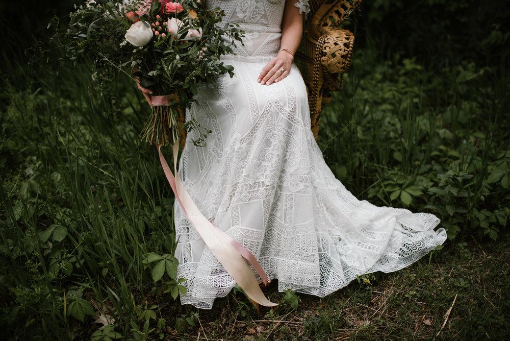 Wedding at the The Blue Dress Barn in Benton Harbor, MI