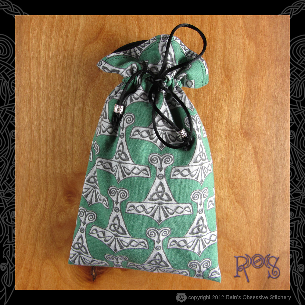 tarot-bag-lg-cotton-sm-thors-hammer-green.JPG
