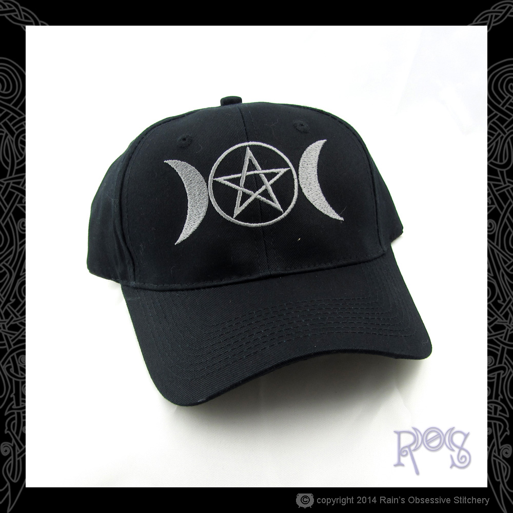 Cap-2-Black-Triple-Goddess-Pentacle-Silver.JPG