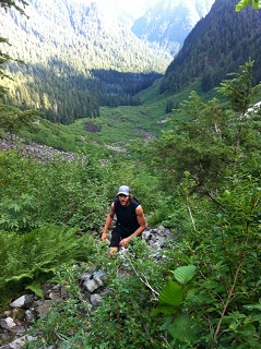 Troy Climbing Haines Valley