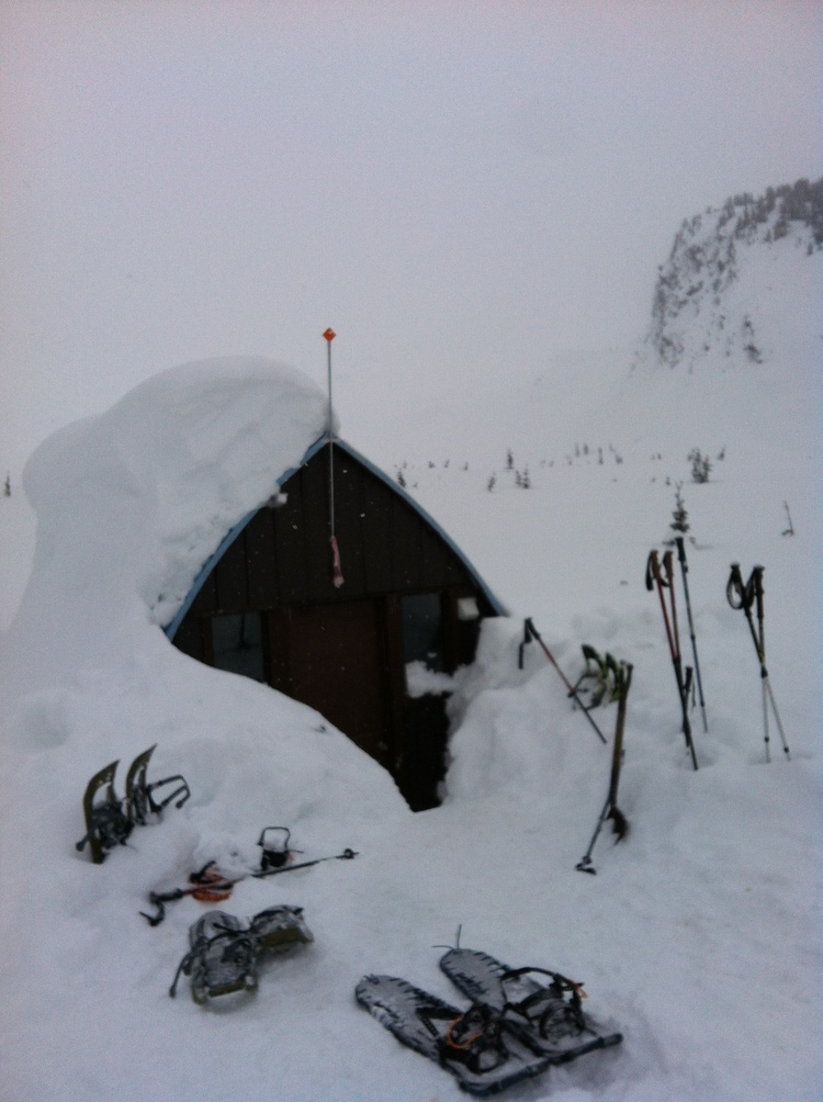finally Burton Hut