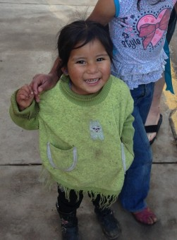 So many cute little kids in Peru