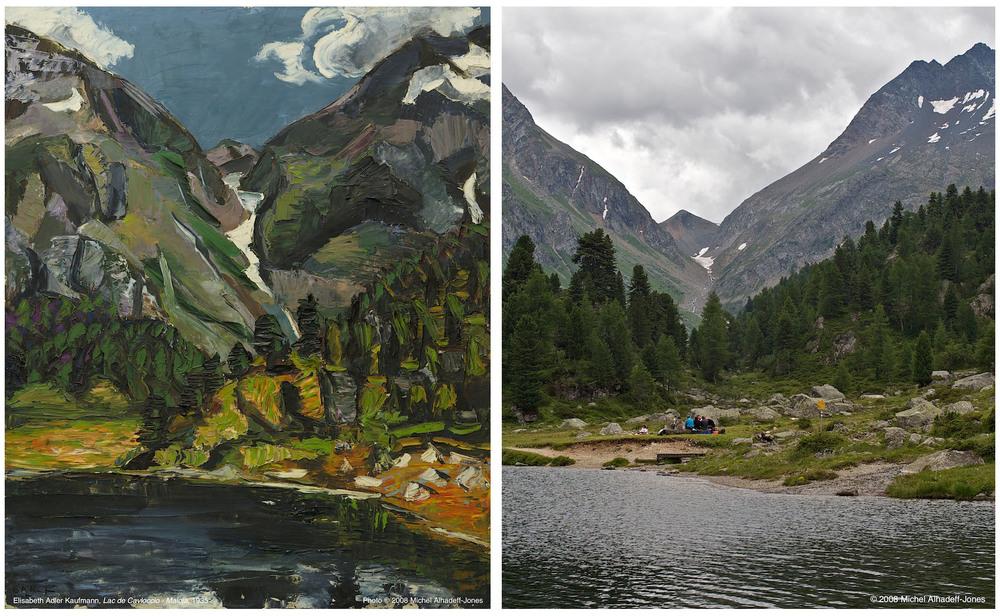 Cima Rosso, Lac de Cavloccio, 1935 / 2008