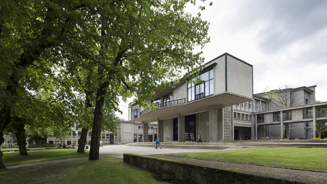 Université de Fribourg, Bâtiment Miséricorde (Photo: Keystone)