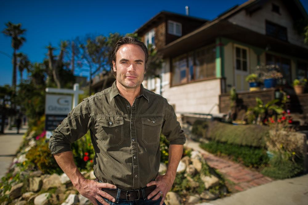 "Matt Blashaw, host of HGTV's ""Vacation House For Free"""
