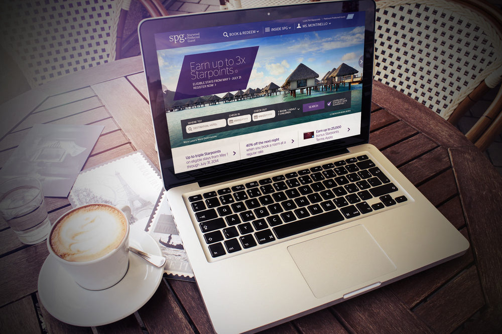 Starwood Preferred Guest -  Site Redesign