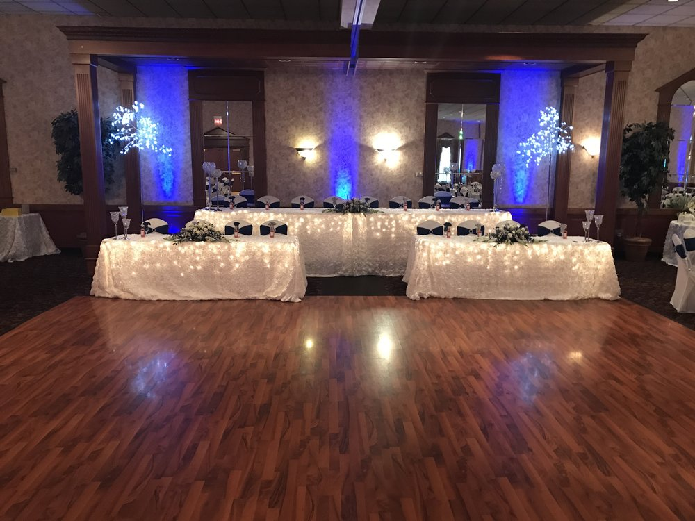 Dance floor at our reception hall