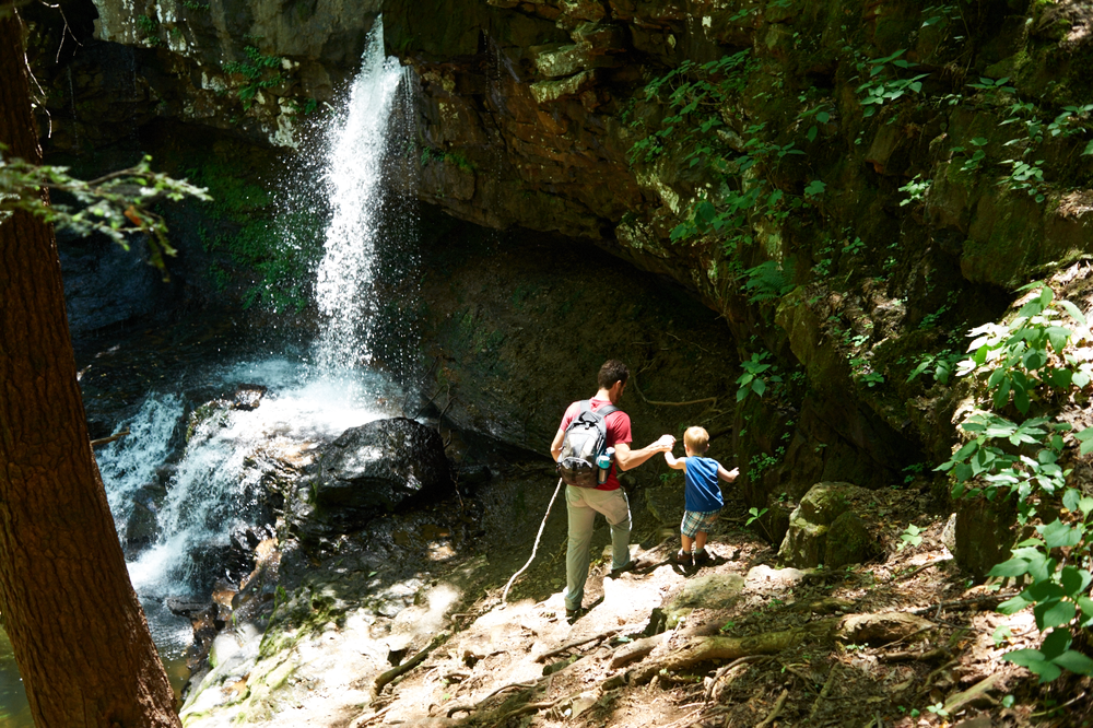 mothers day, cloudland canyon, its the everyday photography, waterfall, hiking