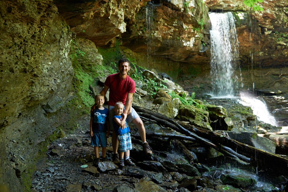 mothers day, cloudland canyon, its the everyday photography, waterfall