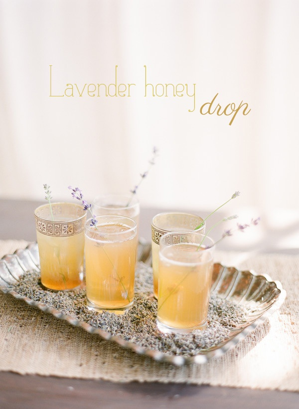 Lavender honey drop