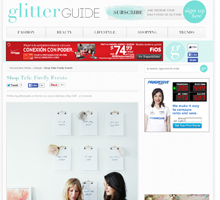 GLITTER GUIDE Shop Talk