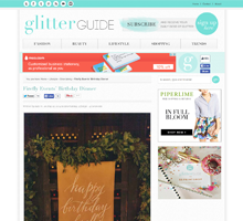 GLITTER GUIDE Firefly Events' Birthday Dinner