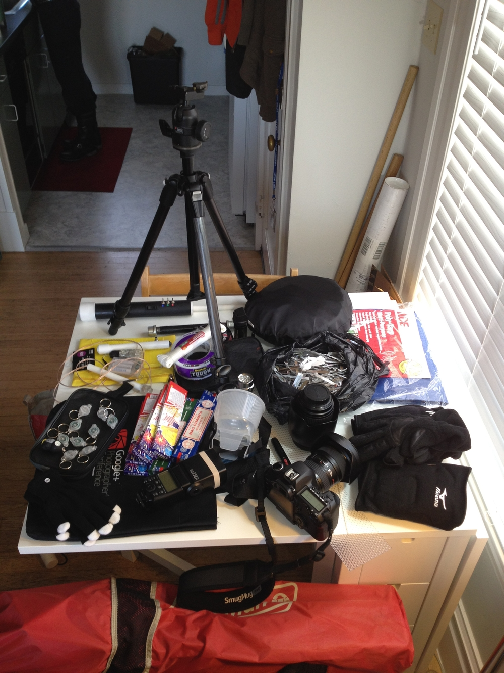 light painting gear