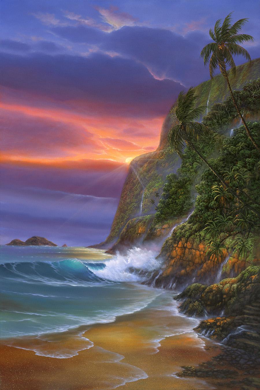 """""""Pololu Beach"""" 24x36"""