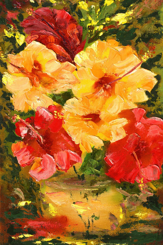 """Flower Impressions"" 11x16"