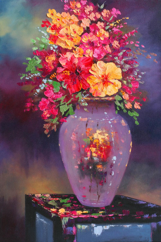 """""""Flower Vase"""" 16x24"""