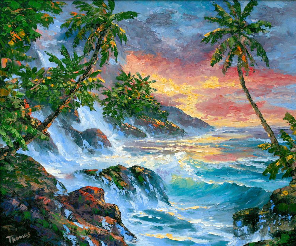 """Seascape Impression"" 20x24"