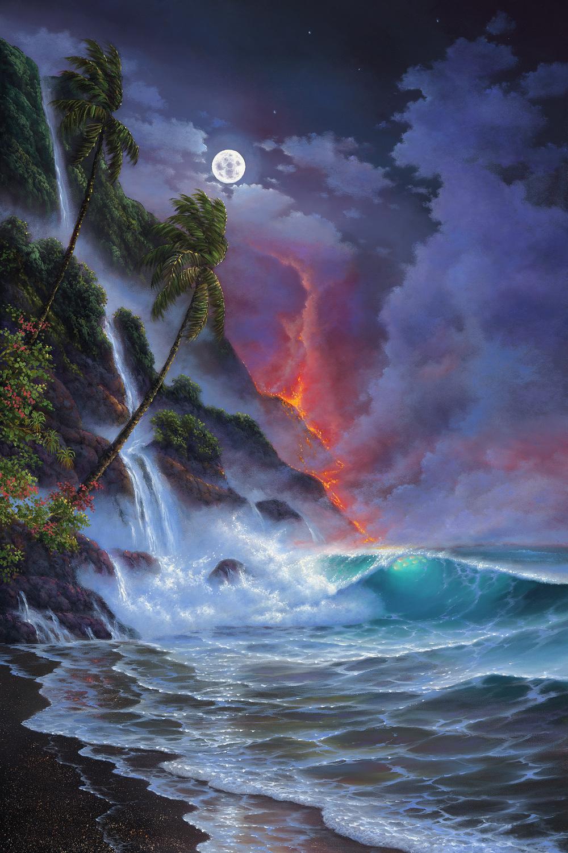 """""""Kilauea"""" 24x36"""