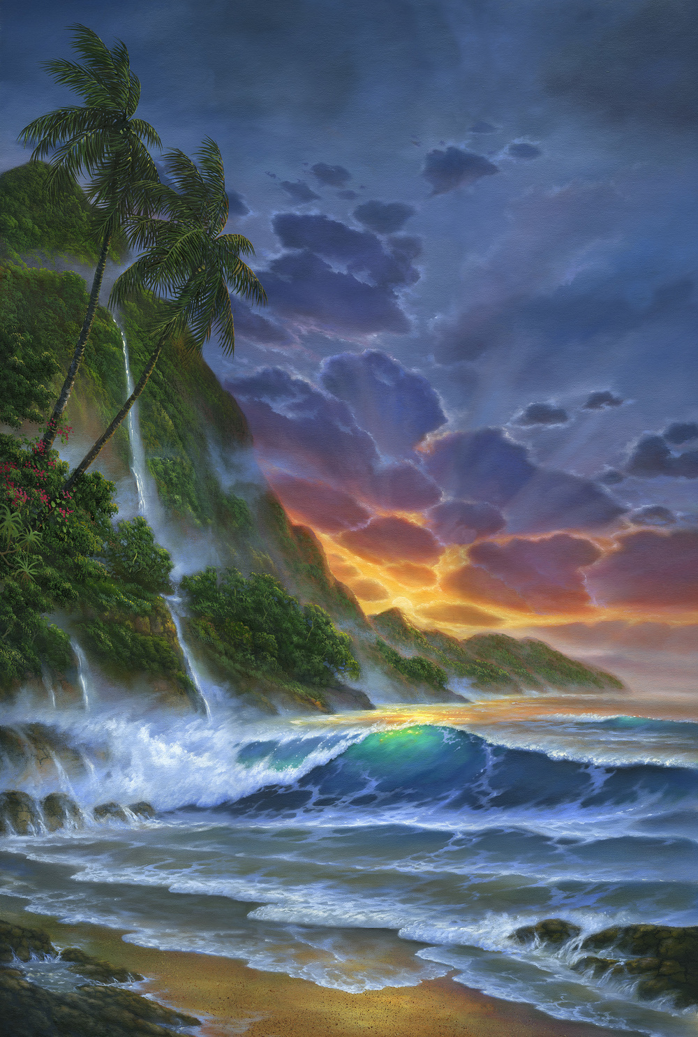 """Hawaiian Dreams"" 24x36"