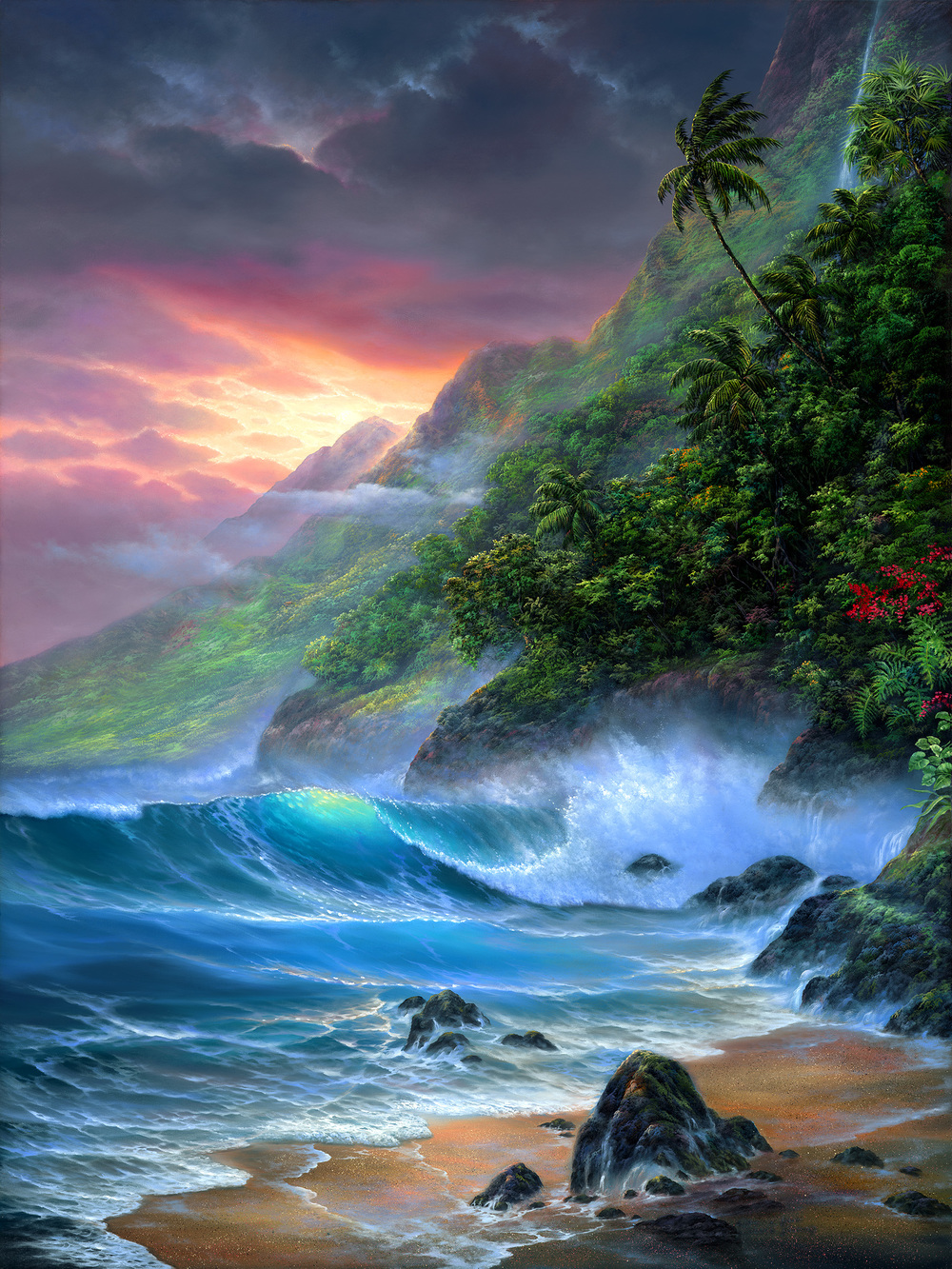 """Na Pali Coast I"" 30x40"
