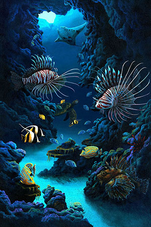 """Lionfish Of Hawaii"""