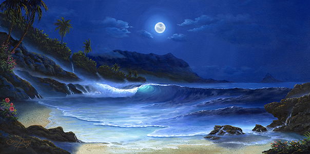 """Blue Hawaii"" 24x48"