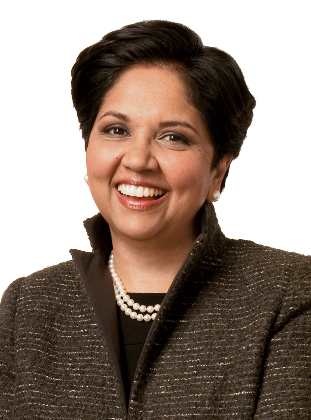 Indra Nooyi, Indian-born, naturalized   American, business executive and the current  Chairperson  and Chief Executive Officer  of  PepsiCo