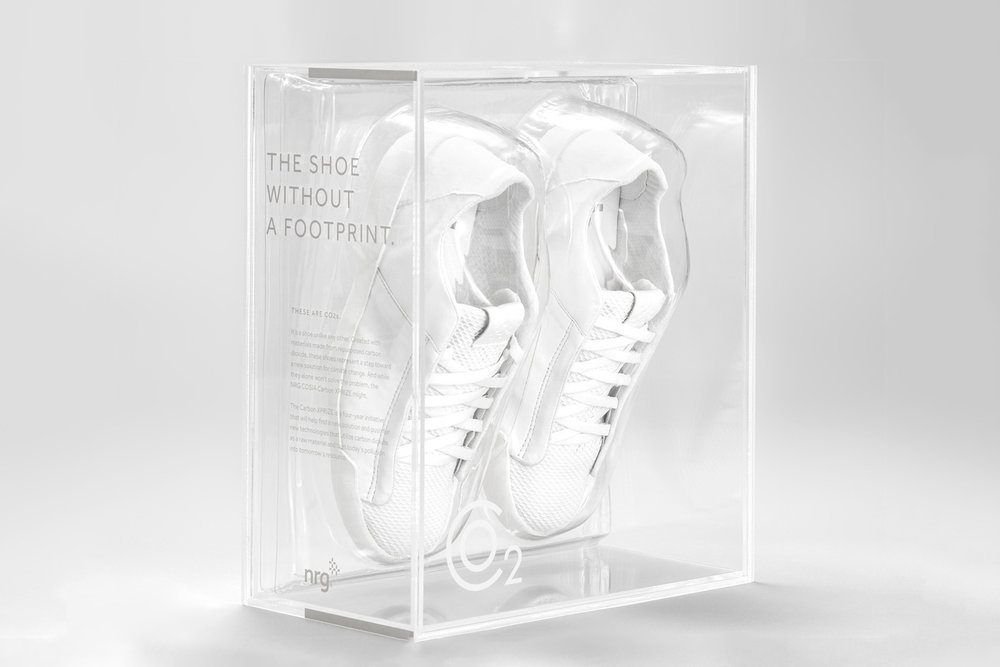 FootprintLESS | NRG's Carbon X-Prize: Recycled CO2 Shoes