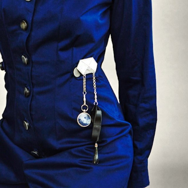 Ms.Chatelaine: a reimagining of the old world for a new future. #techcharms #futuretech #accessories #wearableas#3dprinting #jewelrydesign #toolbelt #womenincharge #technology #keepingthepastalive
