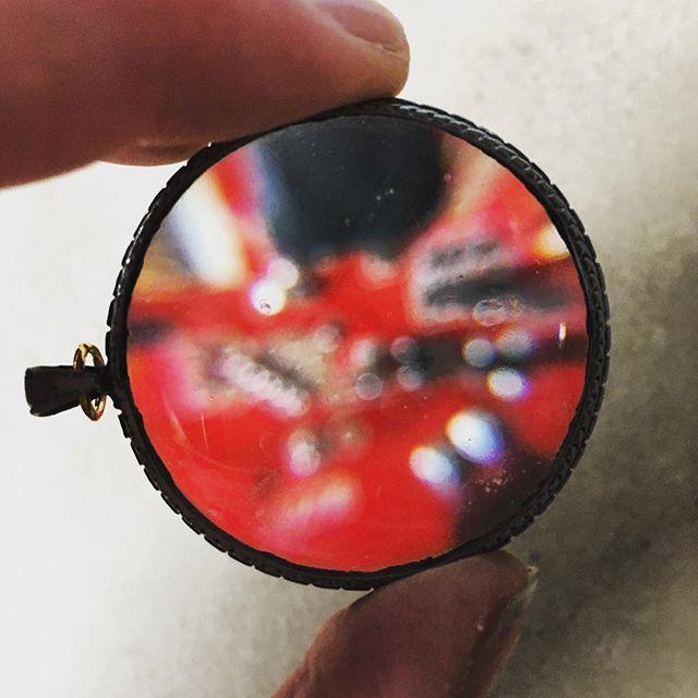 #scarletbeauty #maginifytheidea #electronics#underglass #wearabletech #prototype