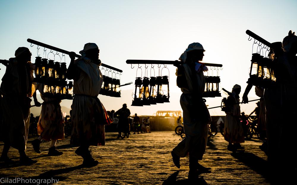 Burning Man Lamplighters