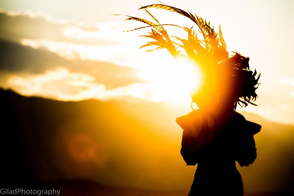 Jennifer at Burning Man