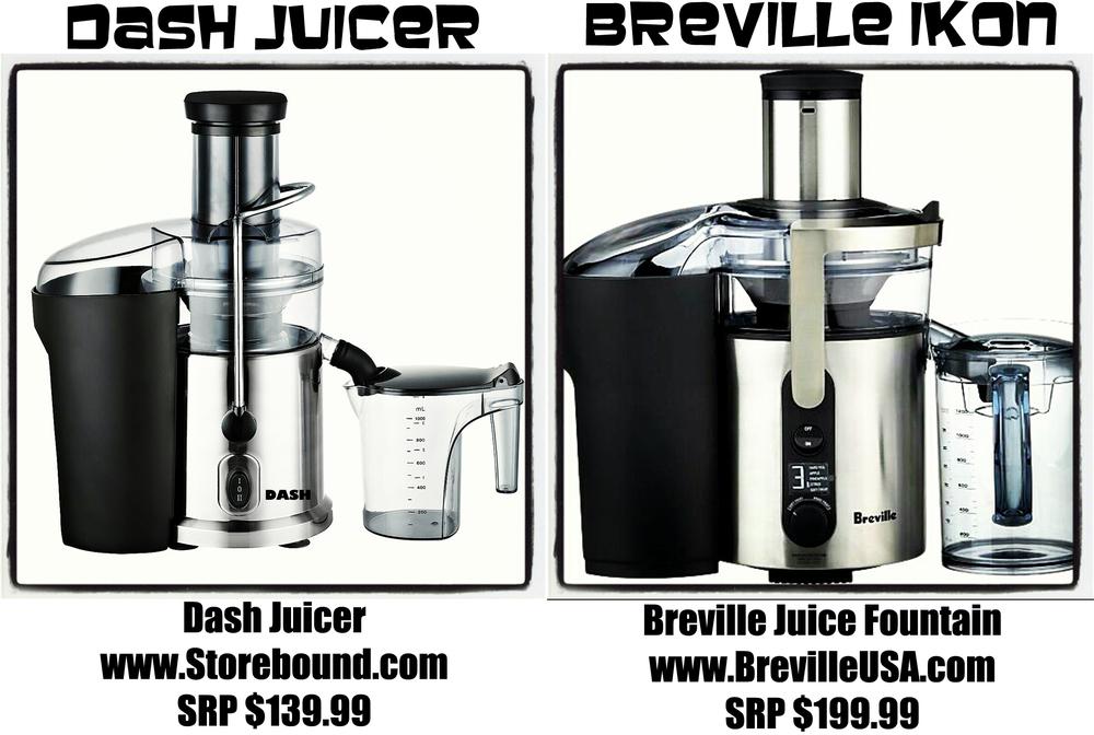 DASH vs. BREVILLE