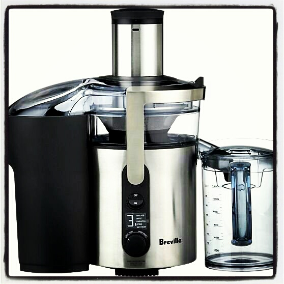 Breville Ikon Fountain Juicer.  MSRP $199.99.
