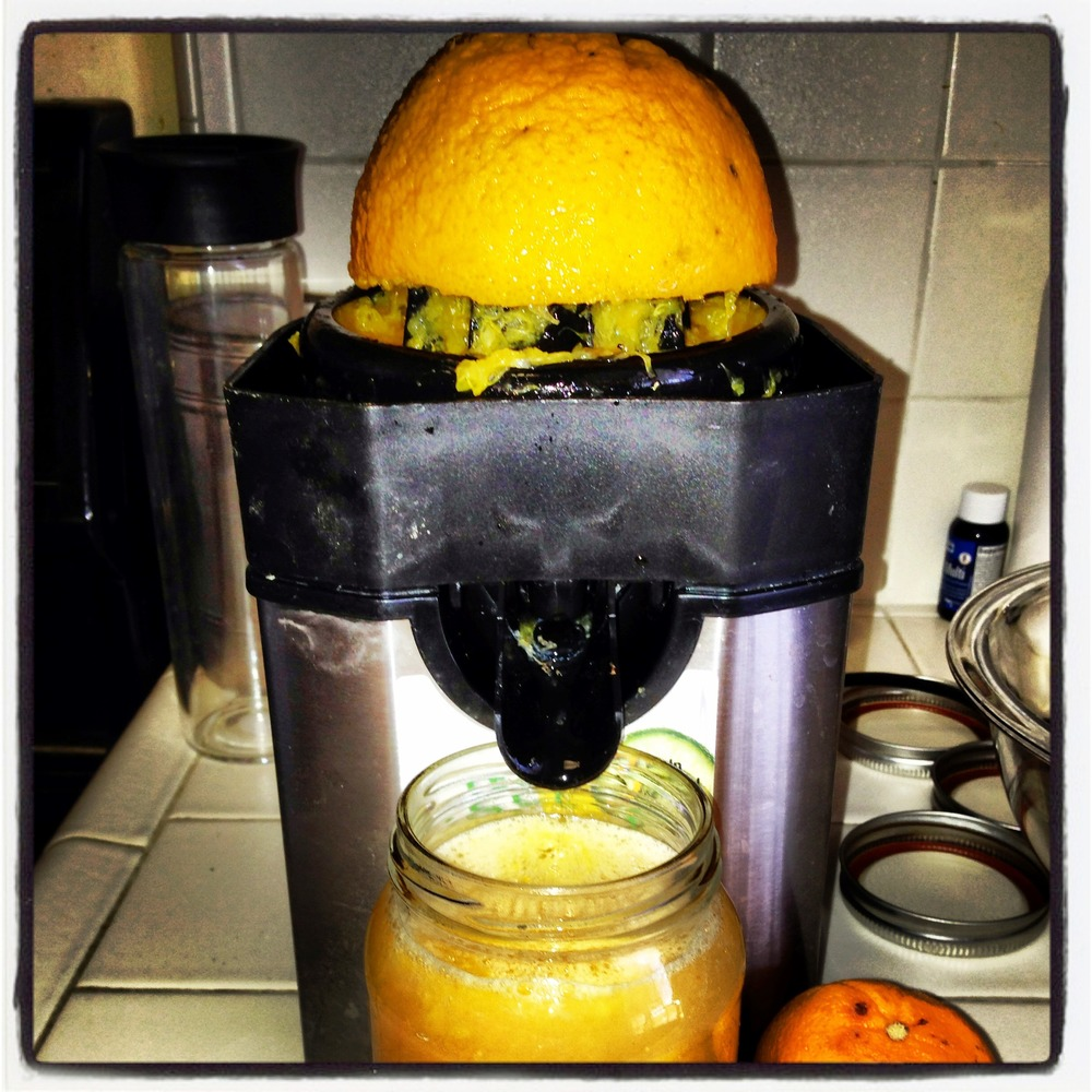 If you want some OJ... here is how you do it!