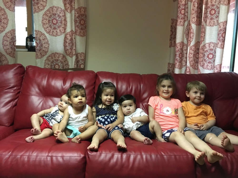 Some of the kids on our trip