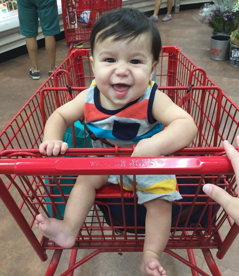 grocery run!
