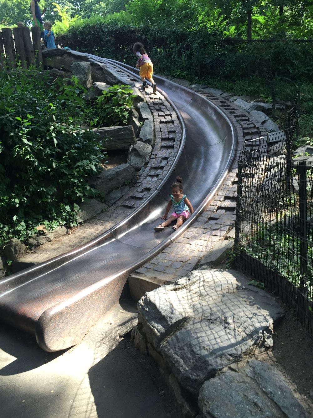 CP granite slide