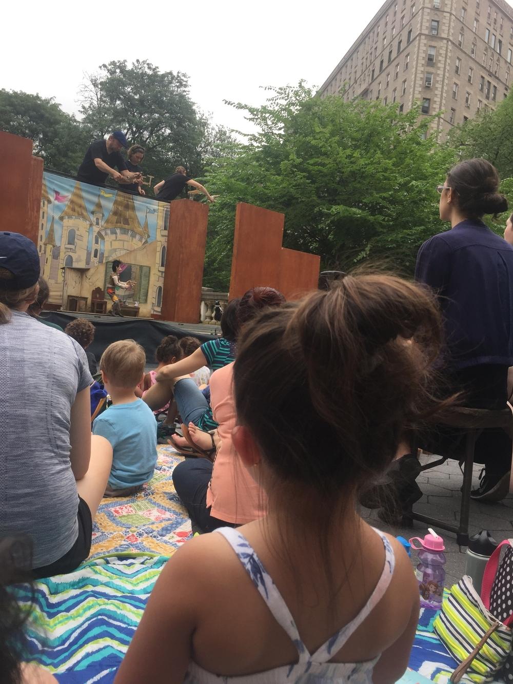 puppet show