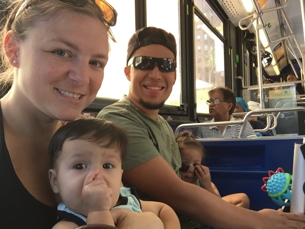 Bus ride!