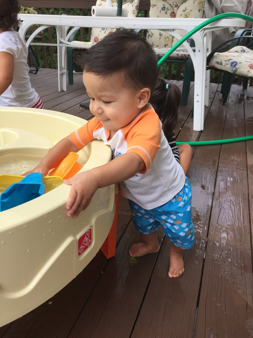 water play!